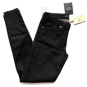 "GUESS | Women's ""Jet Black"" Skinny Jeans NWT"